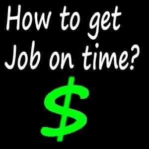How to increase the chance to get a job after graduation