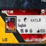 Photo of high level id in free fire game.