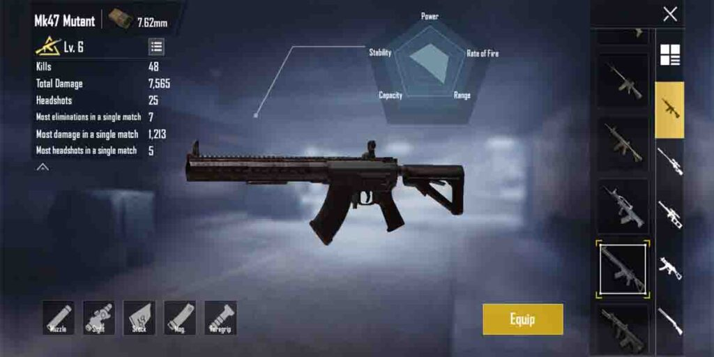 Most hated pubg mobile guns photo