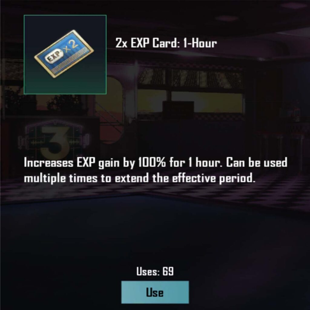 make more exp points to level-up Pubg mobile fast