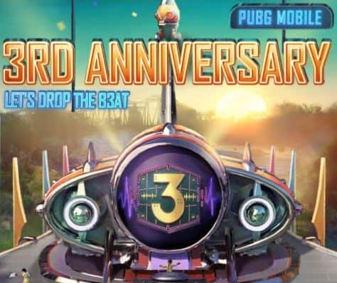 armband abilities PUBG mobile third(3rd) anniversary
