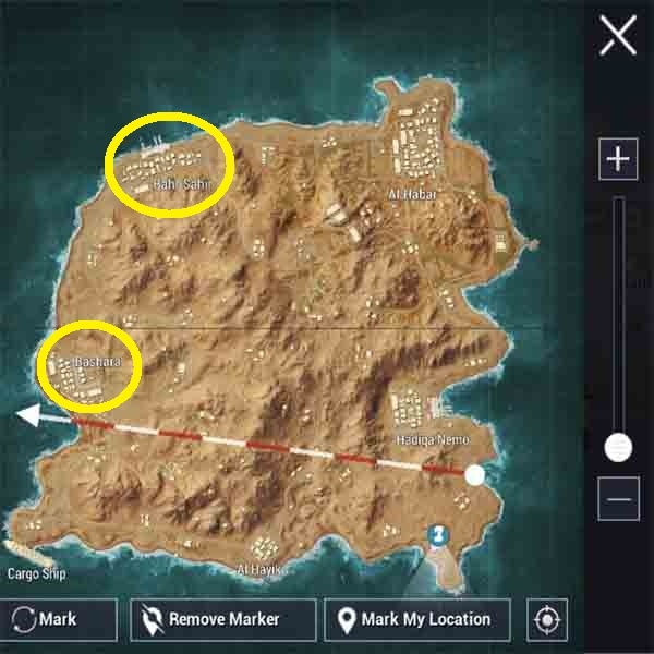 Best loot area in pubg mobile: Top points from all maps