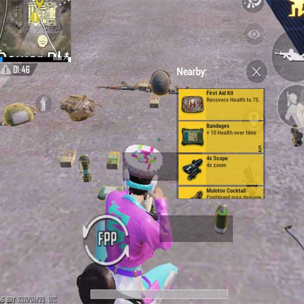 high loot in pubg mobile photo.