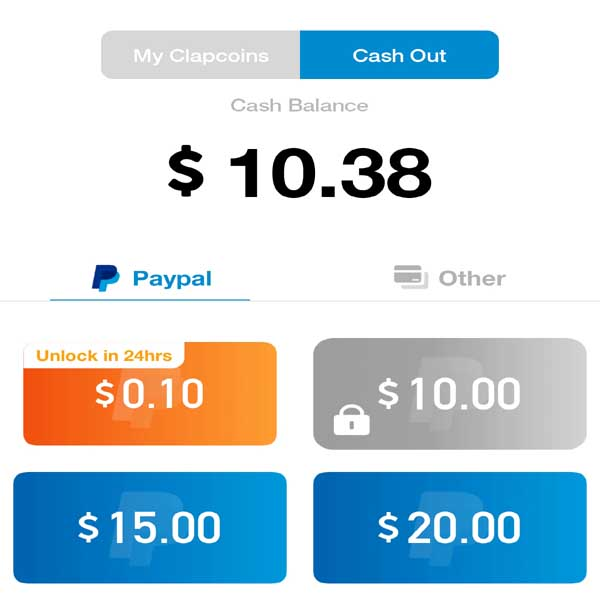 earn more than 10 dollars from the clipclaps quickly