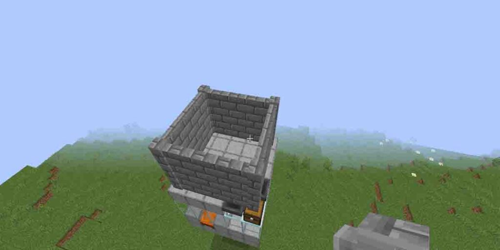 How to make iron farm in Minecraft?