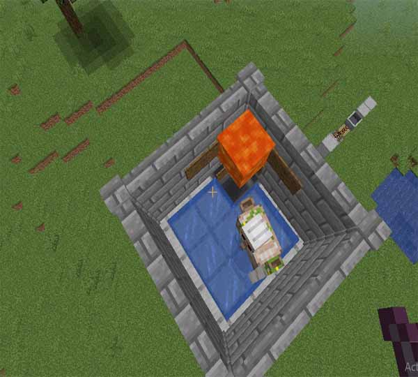 How to make an Iron farm in Minecraft?
