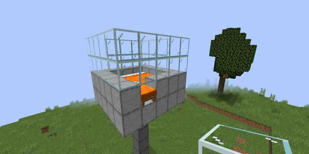 Tutorial for making iron farm in minecraft