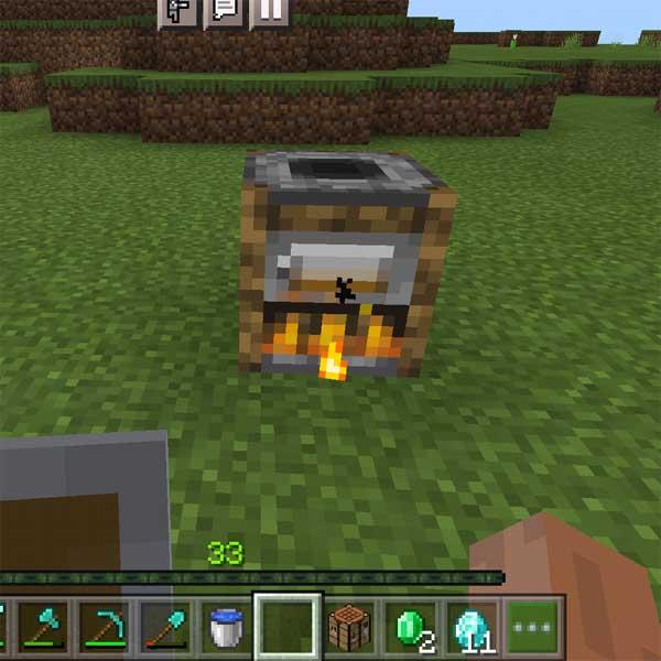 Smoker in Minecraft.