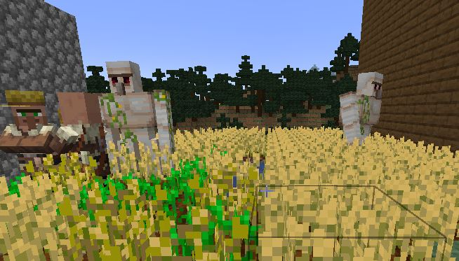 stop villagers from leaving the village in Minecraft