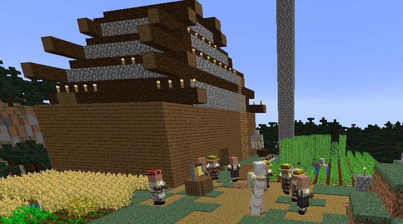 How to stop villagers from leaving the village in Minecraft?