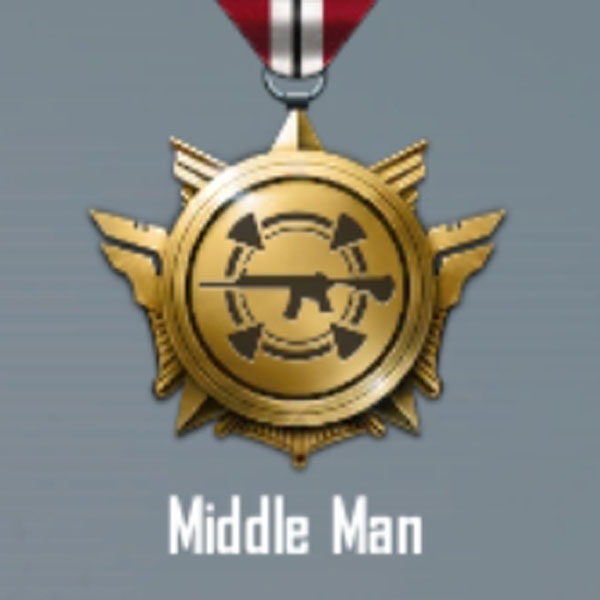 How to get the middle man title in Pubg mobile? Some tips