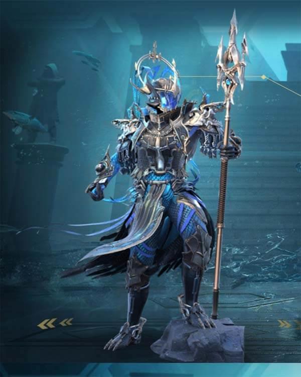 New Poseidon X-suit in Pubg mobile\BGMI