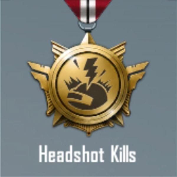 a headshot kills title in Pubg mobile