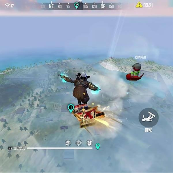 Best safe places in Free fire with more loots inside the Bermuda map