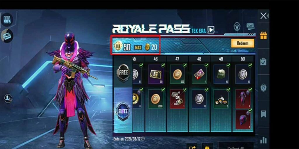 Increase RP rank and get more classic crates in BGMI