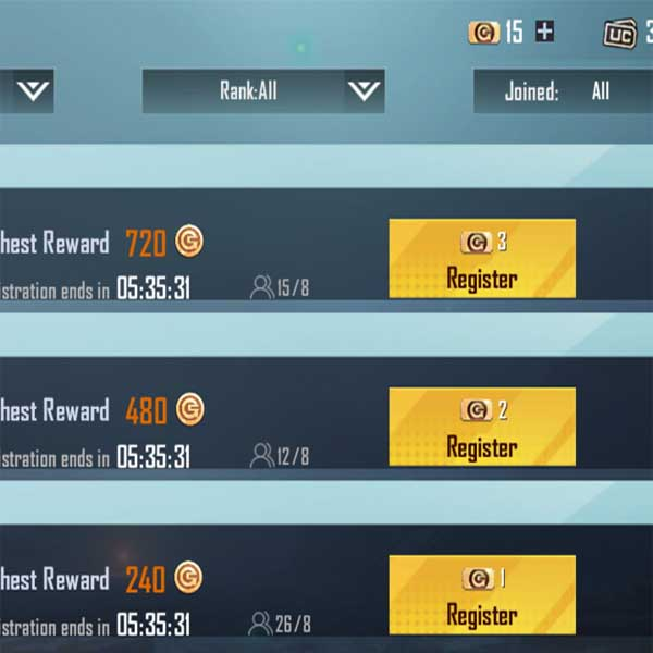 How to play bonus challenge match in Pubg mobile from other region?