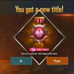 How to get a mythic fashion title in Pubg mobile\BGMI with less UC?
