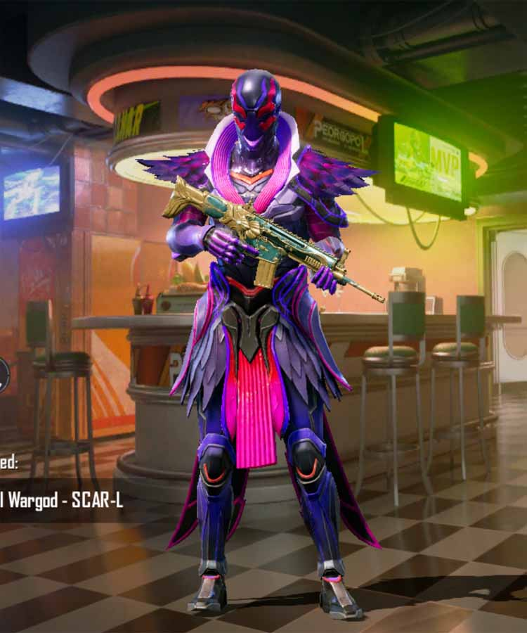 Night Stalker: Cycle 1 season: Month 1 RP rank outfit