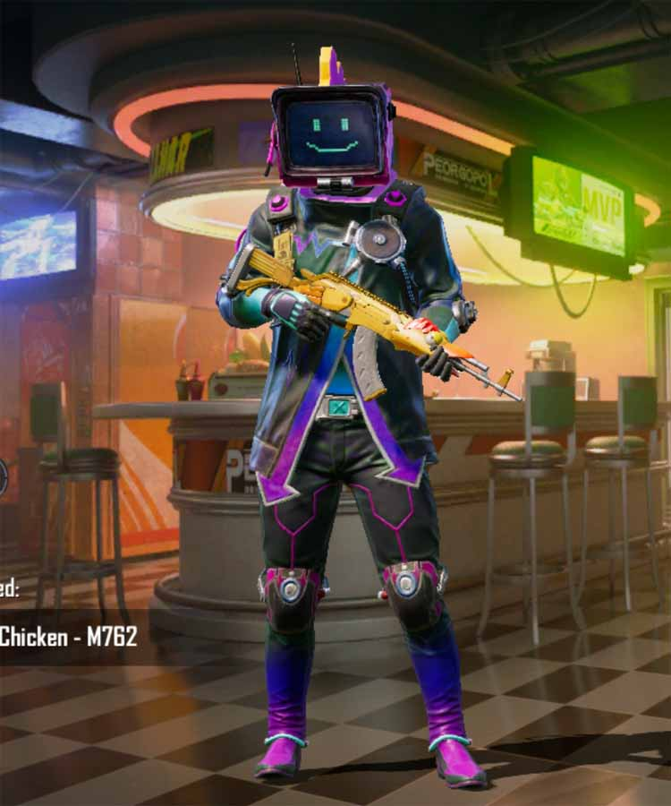 The Brilliant anniversary: Pubg mobile first anniversary outfit set.