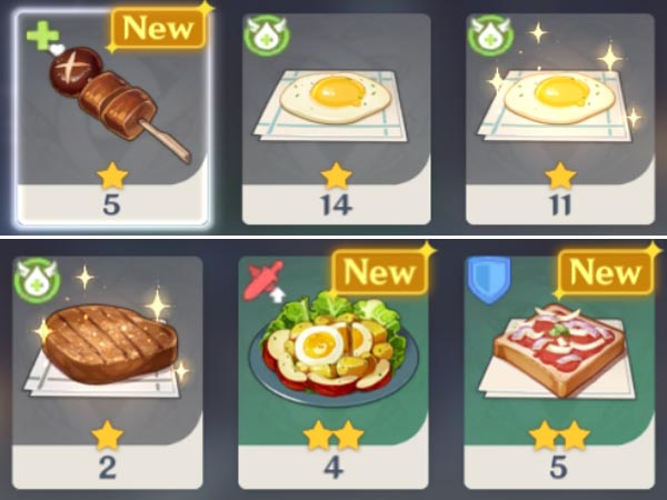 How to purchase food in Genshin Impact to heal the damage?