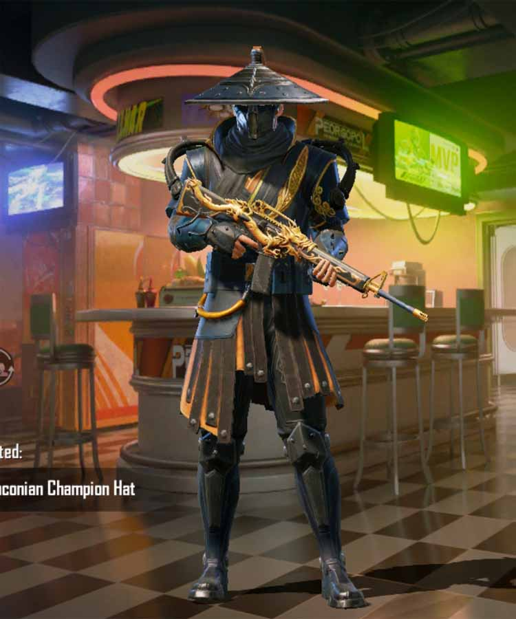 Draconian champion: A outfit set of RP rank season 9 in Pubg mobile.