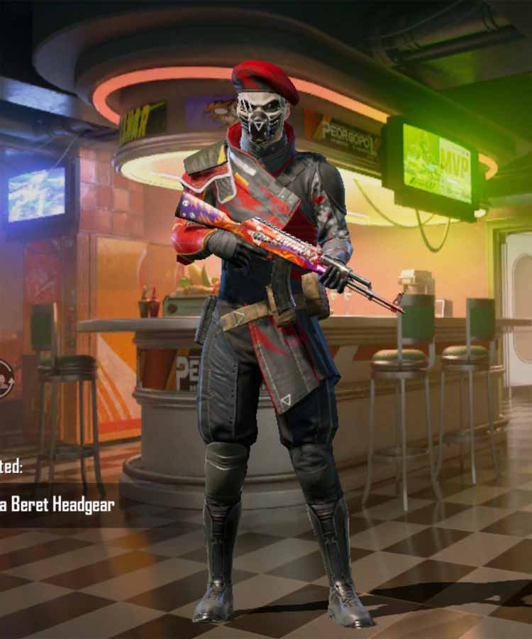 Lava Bret outfit in Pubg mobile: Introduced in season 10